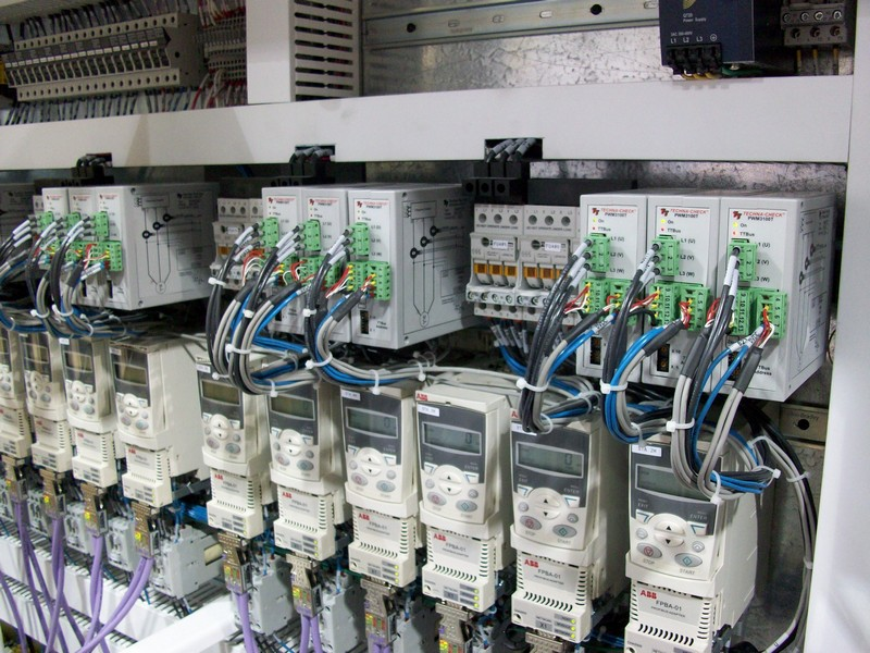 PWM3100T in Electrical Panel of Hydromat