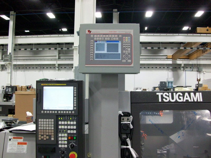 TC6400 on Tsugami SS20 Machine